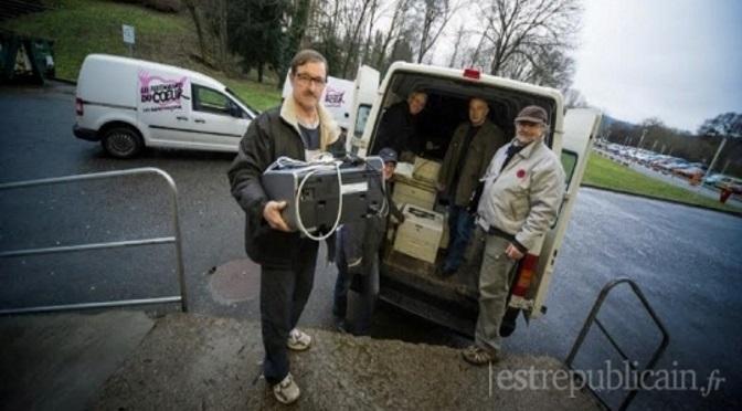 L'UTBM donne ses imprimantes aux Restos du Coeur de Belfort