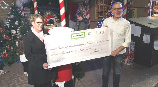 4390 € de dons de la Jardinerie de Botans